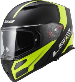 LS2 FF324 METRO RAPID MATT BLACK HI-VIS YELLOW